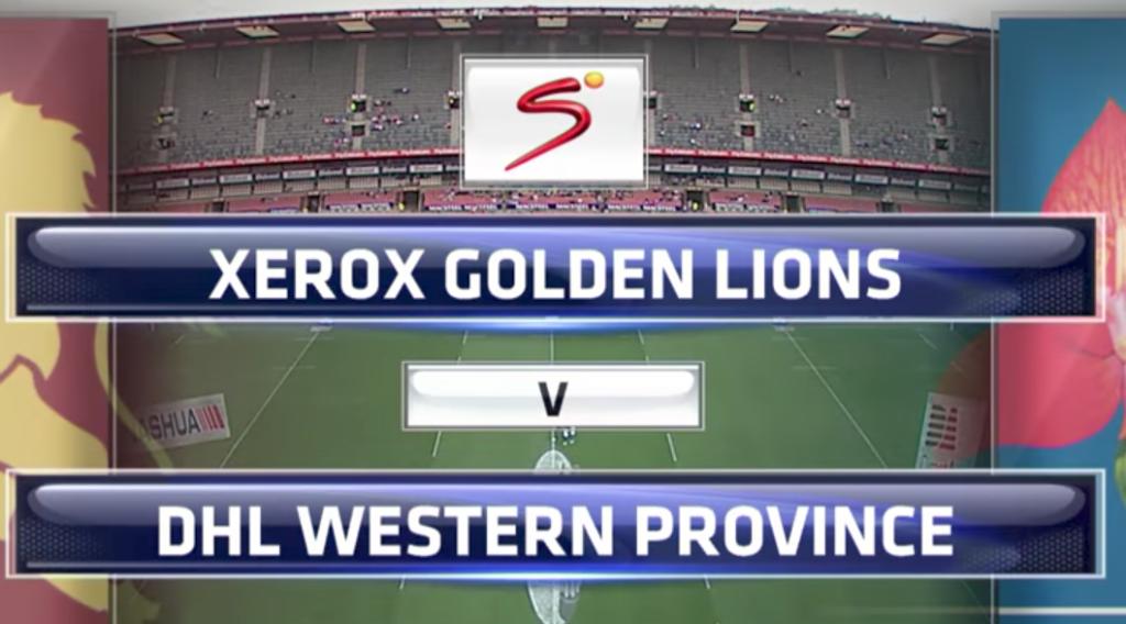 Highlights: Golden Lions vs Western Province