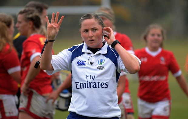 First female ref for Varsity Shield final