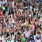 Fans at Cape Town Sevens