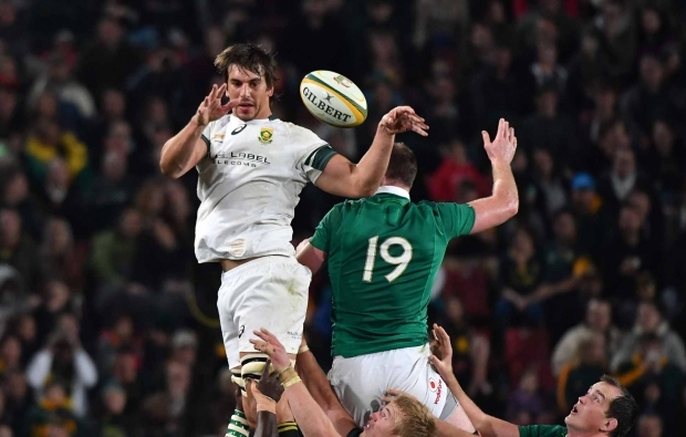 Eben cleared to front Irish