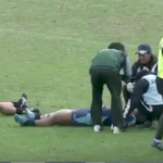 Watch: Prop knocks out teammate