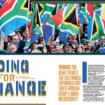 2023 World Cup bid in SA Rugby magazine