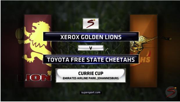 Lions vs Cheetahs