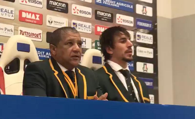 Watch: Springbok press conference