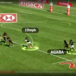 Watch: Afrika, Agaba hit serious speeds