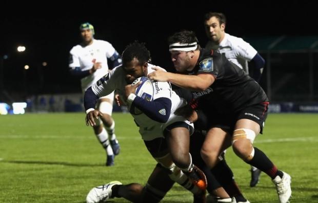 Clermont crush Saracens