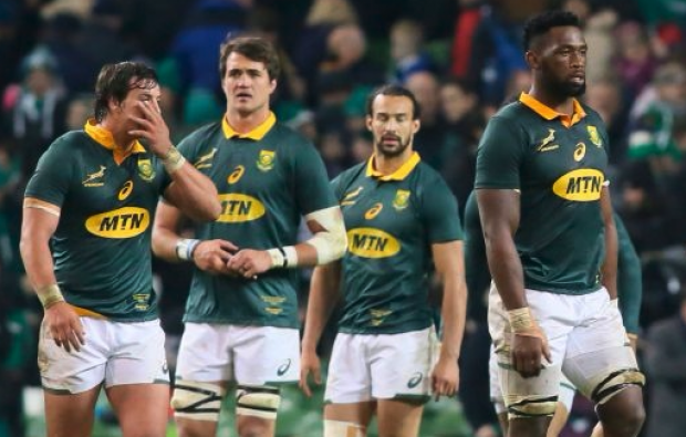Boks slip to sixth in world rankings