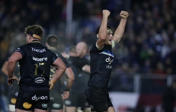 Louw stars in Bath win