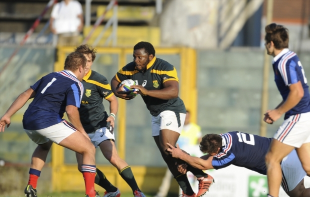Challenging draw for Junior Boks