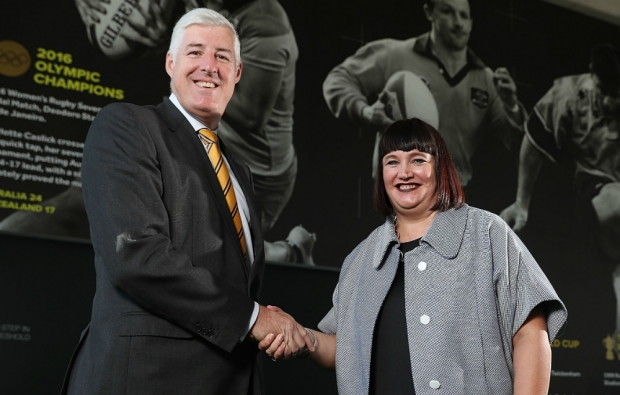 Rugby Australia gets first female boss
