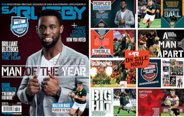 Kolisi our Man of the Year