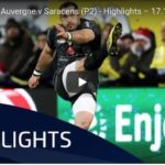 Highlights: Clermont vs Saracens