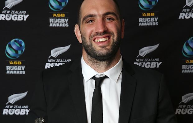 Whitelock wins big at NZ awards