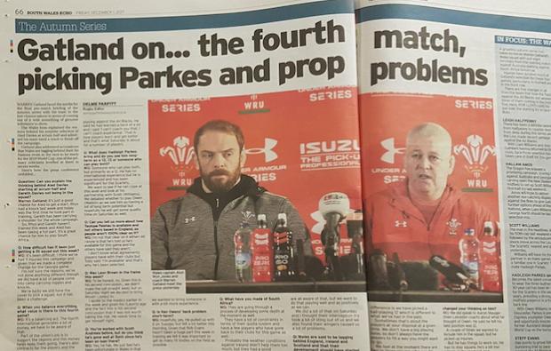 'Hard to see Wales beating Boks'