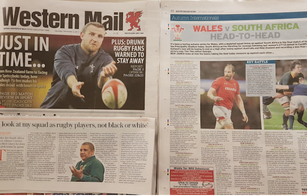 'Boks may be too physical for Wales'