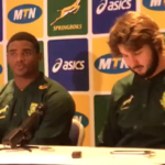 Watch: Springbok press conference