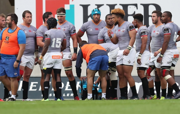 Kings players during the Pro14
