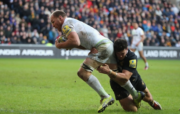 Try, yellow card for Schalk in Sarries win