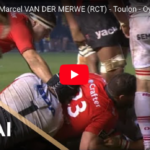 Watch: Marcel crashes over for Toulon