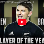 Watch: Beauden Barrett tribute