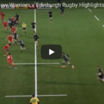 Highlights: Glasgow vs Edinburgh