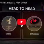 Willie le Roux vs Alex Goode