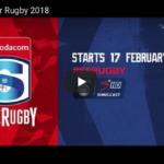 SuperSport's 2018 Super Rugby advert