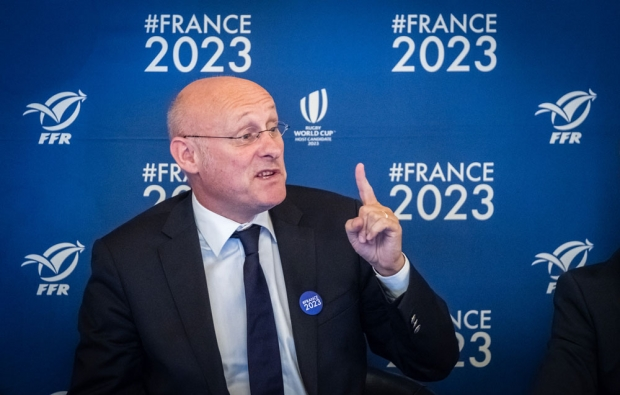 France Rugby president Bernard Laporte