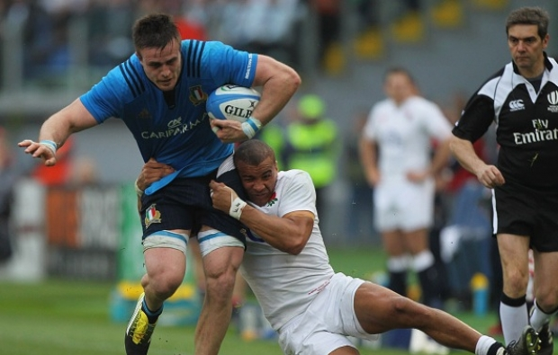 Steyn at eight for Italy