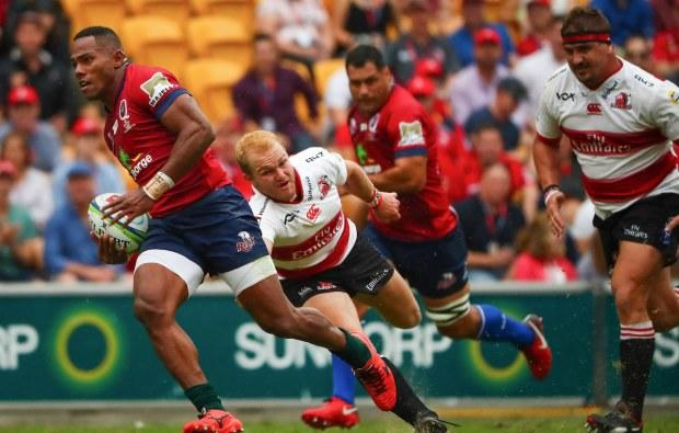 Rampant Reds stun Lions