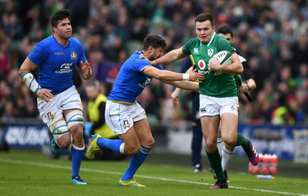 Clinical Ireland put Italy to sword