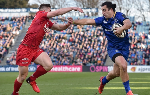 Leinster top with Scarlets win