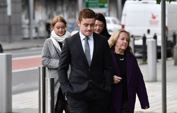 Ireland duo's rape trial begins