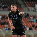 Sharks flyhalf Rob du Preez