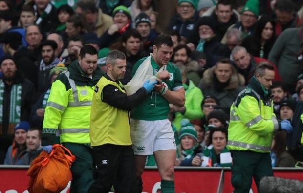 Henshaw injury blow for Ireland