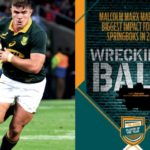 Marx a rugby wrecking ball