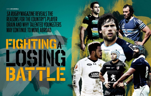 Player drain in SA Rugby magazine