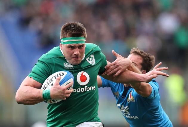 Ireland to play Italy in USA