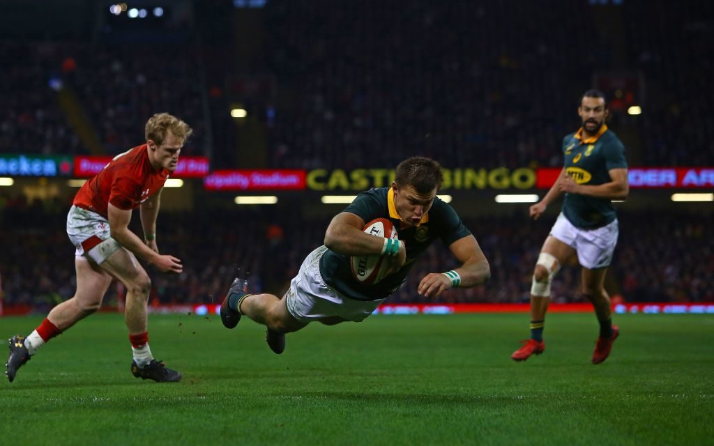 Bet on Boks, England to win