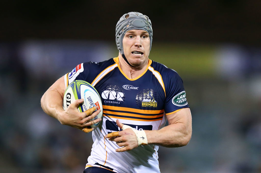 Brumbies beef up pack for Lions