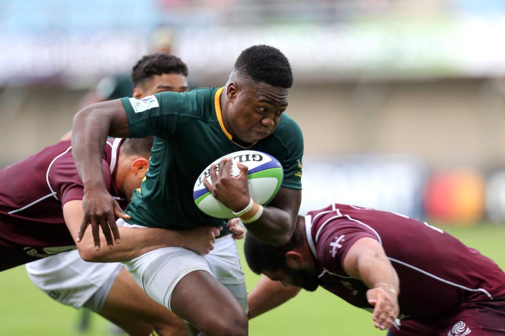 Junior Boks Wandisile Simelane