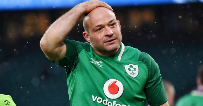 Ireland captain Rory Best