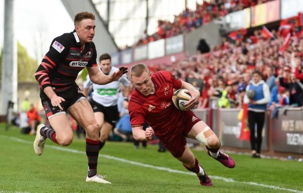 Munster eliminate Edinburgh