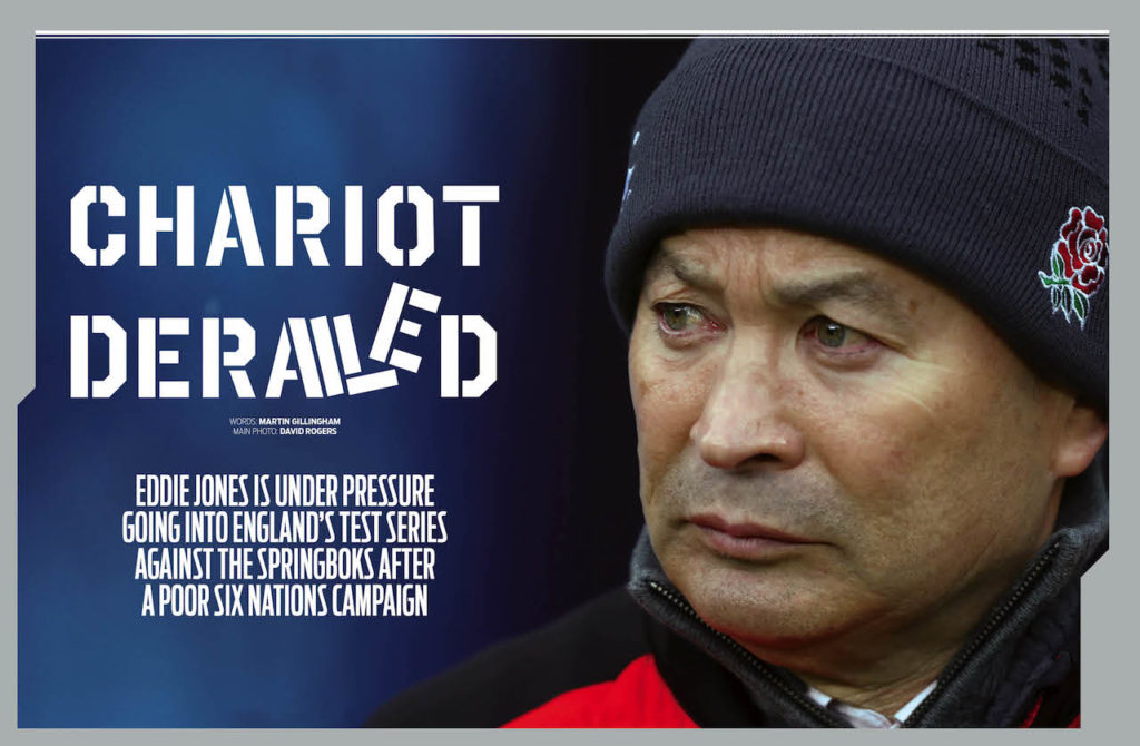 Eddie Jones in SA Rugby magazine