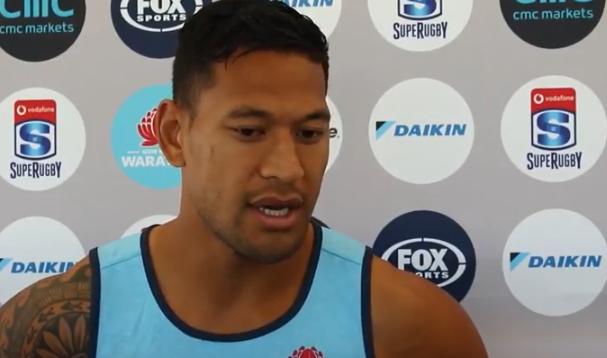 Watch: Folau on rugby return