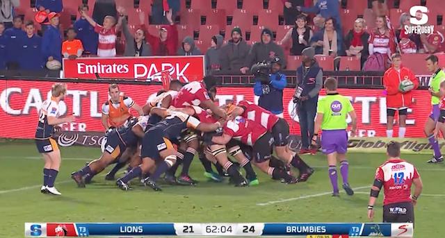 Highlights: Lions vs Brumbies