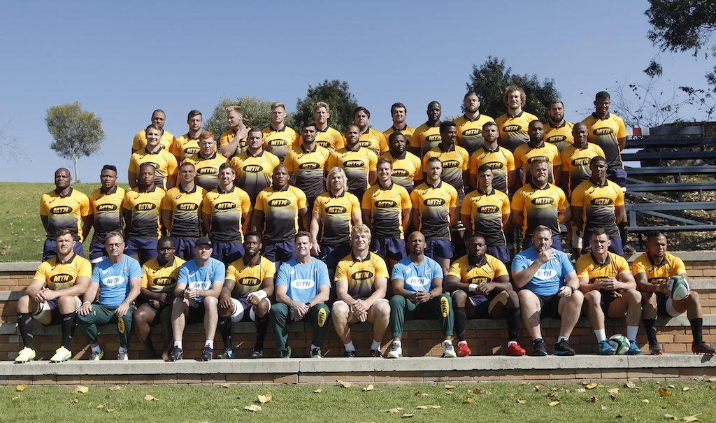 The 43-man Springboks squad
