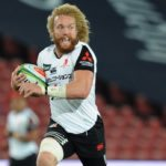 Willie Britz playing for the Sunwolves