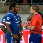 Watch: France red card in Wellington