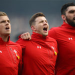 Gareth Anscombe, Elliot Dee and Cory Hill